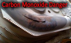 cracked heat exchanger carbon monoxide
